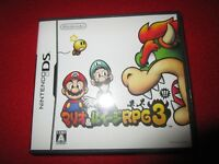 Mario & Luigi: Bowser's Inside Story Super Mario RPG3 Rare Japanese Version