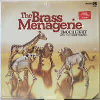 ENOCH LIGHT & the LIGHT BRIGADE The Brass Menagerie (1973) LP w/ Moog, reissue
