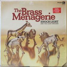 ENOCH LIGHT & the LIGHT BRIGADE The Brass Menagerie (1973) LP w/ Moog, reissue