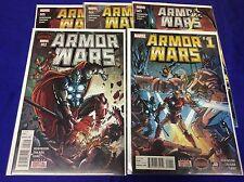 ARMOR WARS #1-5 (MARVEL/2015/ROBINSON/SECRET WARS/1015228) COMPLETE SET LOT OF 5
