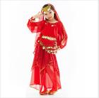 KID's Full set Party Dress Belly Dance Halloween Costumes Performance Dancewea F