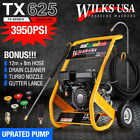 Petrol Pressure Washer - 3950PSI / 272BAR - POWER JET CLEANER - WILKS-USA TX625i