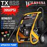 Petrol Pressure Washer - 3950PSI / 272BAR - POWER JET CLEANER - WILKS-USA TX625i