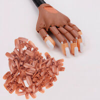 Nail Art Training Practice False Nails Piece Manicure Joint Prosthetic Hand Tool