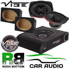VW T4 T5 T5.1 T6 Van Bus Vibe 900W Underseat Sub & 960 Watts 6X9 & MDF Boxes