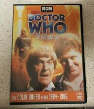 Doctor Who - The Two Doctors DVD RARE! 2019 Release 2-Disc Story 141 Region 1!