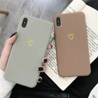 Cases For iPhone 11 Pro Max XR X XS Max 6 6S 7 8 Plus Cute Love Heart Back Cover