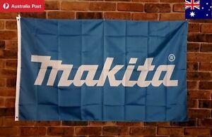Makita Tools Flag 150x90cm collectable mancave garage essentials Australia Stock