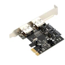 PCI-E Express SATA3 6Gb/s eSATA SATA III Card US Stock