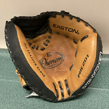 Easton Youth Leather Catchers Mitt PHE201 Baseball Right Handed Thrower Youth