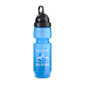 Sport Berkey Bottle 600ml (22oz) Portable water filter bottle for hiking camping
