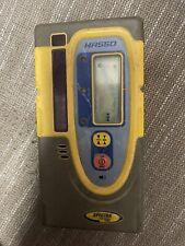 Spectra Precision Trimble Hr550 Laser Lever Reciever