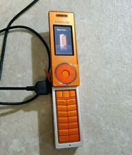 Samsung SGH X830 -Mobile Phone Collectors -RARE ORANGE+CHARGER-WORKING!!