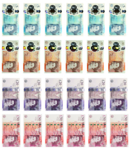 Edible money British Pounds cupcake topper banknote high quality icing wafer
