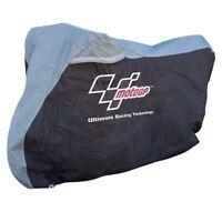 MotoGp Waterproof Heat Resistance Motorcycle Bike Cover With Adjustable Fitting