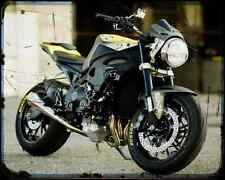 RDS Honda Cbr1000Rr Fireblade Streetfighter 1 A4 Foto Impresión Moto Vintage un