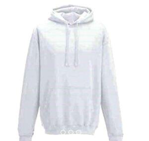 Famona Plain Pullover Hooded Jumper Hoody Sweatshirt Hoodi 80% Cotton 280gsm