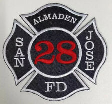 "San Jose, Ca ""Almaden"" Station 28 Fire Patch"