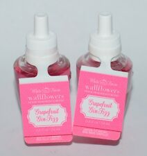 2 BATH & BODY WORKS GRAPEFRUIT GIN FIZZ WALLFLOWER FRAGRANCE REFILL BULB PLUG