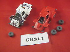 OOP Dark Future Renegade Car x2, 2 Broken Axels 1988 Plastic Ref GH314