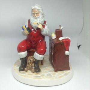 Royal Doulton Santa's Workshop figurine RRP$329