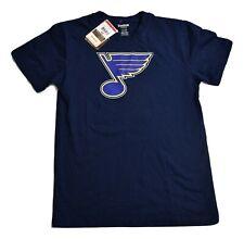 Reebok NHL Youth Boys St. Louis Blues Hockey Shirt New L (14-16)