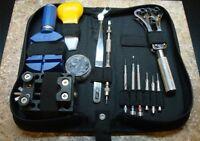 Watch Repair Tool Kit Jeweler case opener spring bar 13 PIECE NEW