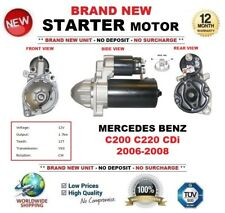 FOR MERCEDES BENZ C200 C220 CDi 2006-2008 STARTER MOTOR 1.7kW 12Teeth OE QUALITY