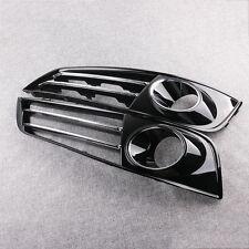 Neu Stoßstange Gitter Blende Grille Link Rechts Schwarz For Audi A8 10-13 4H