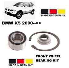 FOR BMW X5 SERIES E53 2000 >3.0 4.4 4.6 4.8 4X4 IS FRONT WHEEL BEARING KIT