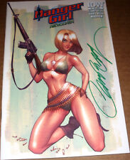 Danger Girl Revolver #1 Abbey Variant SIGNED J Scott Campbell IDW Army Ltd 500