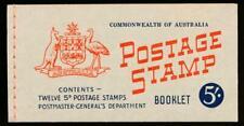 Australia Sg. Sb35 5 Sh.Booklet, Mint Nh, 2 Panes of 6
