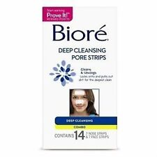 Biore Deep Cleansing Pore Strips, Combo, 14 Ct (Pack of 6)