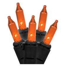 Philips 60 LED Orange String Mini Lights - Black Wire - Indoor/Outdoor