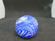 1995 Prestige Art Glass - Elwood, In - Blue & White