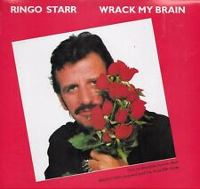 RINGO STARR  Wrack My Brain / Drumming Is My Madness 45 with PicSleeve  BEATLES