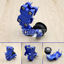 Blue Adjuster Chain Tensioner Bolt On Roller Motorcycle Chopper ATV Pit Bike