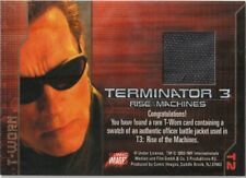 Terminator 3 costume swatch T-worn T2 Jacket