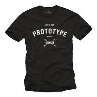 Herren lustiges Sprüche T-Shirt PROTOYPE Coole Funshirts Fun Tumblr Swag Vegas