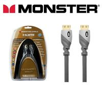 Monster® Premium UltraHD 4K HDMI Cable Gold Series v2.0 18Gbps 1.5M