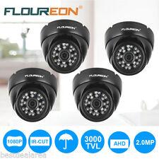4x 1080P HD AHD 3000TVL Dome CCTV DVR Camera Home Sercurity Night Vision Outdoor