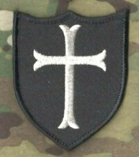 SEAL SPECIAL WARFARE DEVGRU OPERATOR JTF vêlkrö INSIGNIA: Shield Cross (silver)