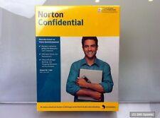 Symantec NORTON CONFIDENTIAL 1 an abonnement, version complète, CD, allemand, antiphishing