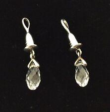 Chamilia Jewelry Sterling Silver Earring Bead Drop- Briolette Clear Swarovski