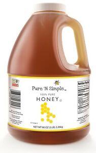Pure N Simple Honey 80 Oz