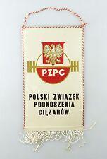 #e6405 Bunting pzpc Polski zwiazek podnoszenia ciezarow Lift Weights