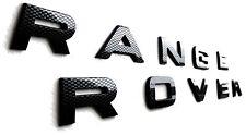 Carbon Effect Range Rover Sport Evoque L322 Front/Rear Lettering Letters Badge