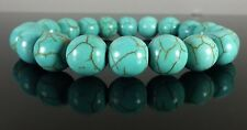 Turquoise Beaded Bracelet 10mm