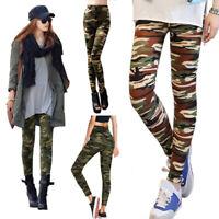 Women Full Length Leggings Joggings Stretchy Pants Skinny Summer Fall One Size