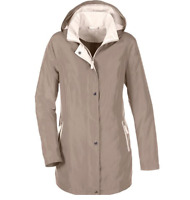 Lightweight Latte Hooded Jacket with zip Pockets size 18